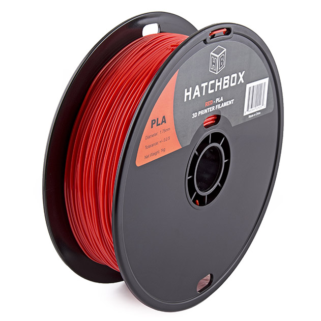 3D PLA 1KG1.75 RED – Picture 01